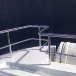 Gelænder til båd